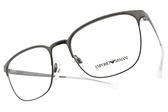 EMPORIO ARMANI 光學眼鏡 EA1081 3003 (槍) 知性細方框款 平光鏡框 #金橘眼鏡