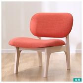 ◎實木餐椅 RELAX WW/OR 橡膠木 NITORI宜得利家居