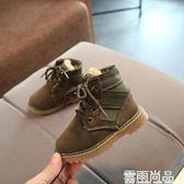 冬季新款嬰幼兒棉鞋子6-12個月男女寶寶軟底學步鞋0-3歲公主棉靴 雲雨尚品