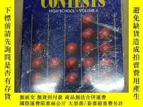 二手書博民逛書店Math罕見Contests High School High