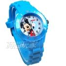 Disney 迪士尼 時尚卡通手錶 米老鼠 米奇 兒童手錶 數字 女錶 男錶 藍色 D米奇藍大-1