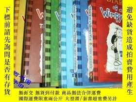 二手書博民逛書店Diary罕見of a Wimpy Kid. (全6冊)Y159