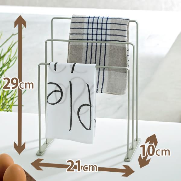 【TENMA】桌上型三層毛巾架