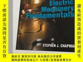 二手書博民逛書店ELECTRIC罕見MACHINERY FUNDAMENTALS