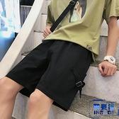 工裝短褲男五分褲韓版休閒外穿運動褲子寬褲【英賽德3C數碼館】
