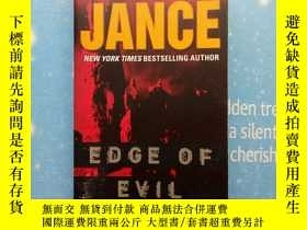 二手書博民逛書店J.A罕見JANCE EDCE OF EVIL,Y202807 看圖 看圖 出版2006