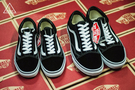 ISNEAKERS Vans Old Skool Black/white 黑白 男女 基本款 VN000D3HY28