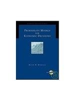 二手書博民逛書店 《Probability models for economic decisions》 R2Y ISBN:0534423817│Myerson