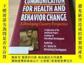 二手書博民逛書店COMMUNICATION罕見FOR HEALTH AND BE