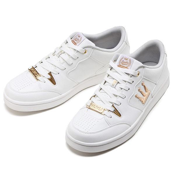 DADA SHOTCALLER 經典復古低筒休閒運動鞋-女-20週年限定白金款(20周年紀念鞋舌款)