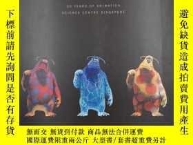 二手書博民逛書店PIXAR罕見20 YEARS OF ANIMATION SCIENCE CENTRE SINGAPOREY1