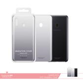 Samsung三星 原廠Galaxy A20 漸層透明背蓋【台灣公司貨】漸層黑