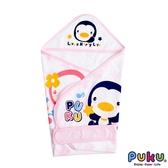PUKU 藍色企鵝-單層包巾(春夏)尺寸F- 粉紅/兩色可選 大樹