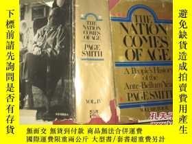 二手書博民逛書店The罕見Nation Comes of Age Vol 4(英