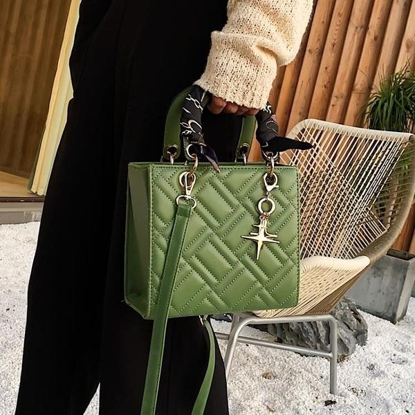 春夏高級感洋氣小包包女2020新款潮韓版百搭斜挎包時尚手提戴妃包 【端午節特惠】