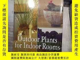 二手書博民逛書店OUTDOOR罕見PLANTS FOR INDOOR ROOMS