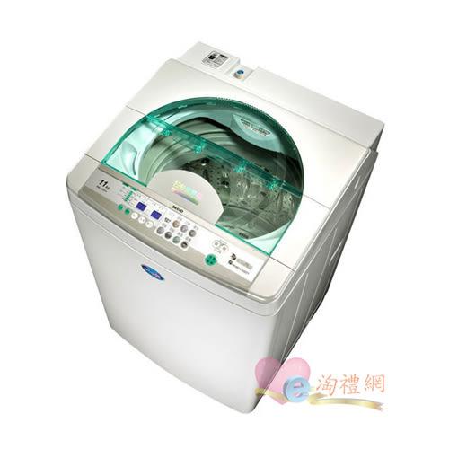淘禮網 SANLUX 台灣三洋 DD直流變頻11kg不鏽鋼超音波洗衣機 / SW-11DV3