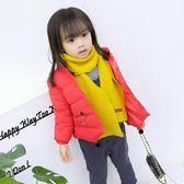 新款兒童棉衣寶寶秋冬季棉服中小女童裝羽絨棉襖輕薄內膽【韓衣舍】