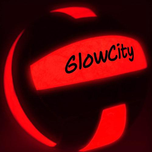 [2美國直購] 發光排球 GlowCity Glow in The Dark Volleyball - Light Up Volleyballs for Kids, Teens and Adults