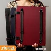 博格利諾4K雙肩背防水畫夾畫板素描寫生套裝速寫板8k可裝紙折疊畫袋8開藝MBS『潮流世家』