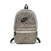 Nike 後背包 Heritage Backpack Leopard 豹紋 白 黑 包包【PUMP306】 BA5761-110