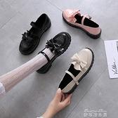 娃娃鞋日繫洛麗塔小皮鞋女復古森女軟妹可愛大頭娃娃鞋學生厚底lolita鞋 麥琪精品屋