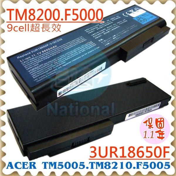 宏碁電池-ACER電池 FERRARI 5000,5004WLMI,5005WLMI-FR,3UR18650F-3-QC228,BT.00903.005,LC.BTP01.016