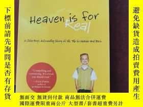 二手書博民逛書店heaven罕見is for real(A716)Y173412