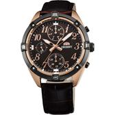 ORIENT 東方錶 SPORTY DESIGN 超人氣運動手錶-38mm FUY04004T
