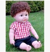幸福居*仿真娃娃嬰兒全軟膠會說話的睡眠洋娃娃智能唱歌寶寶兒童玩具女孩14(主圖款)