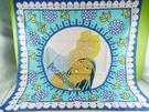 【震撼精品百貨】Disney 迪士尼 Pocahontas_風中奇緣~絲巾-鳳中奇緣公主與王子-藍色