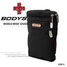 黑色-機能隨身小包/腰包  AMINAH~【BODYSAC B3815】