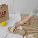 2020新款夏季涼拖鞋女外穿時尚韓版百搭網紅平底潮沙灘可濕水 新年禮物