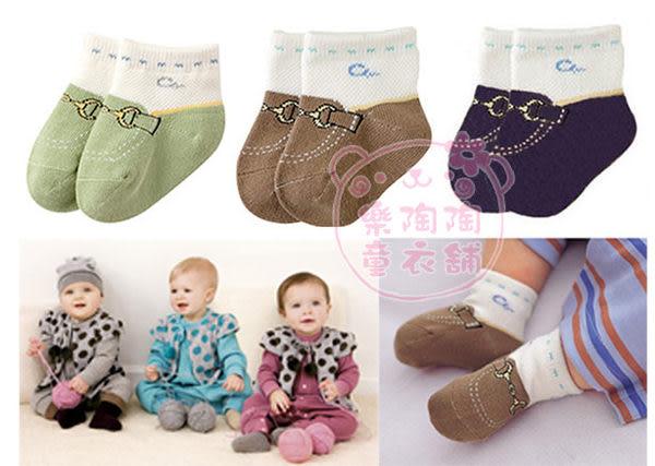 帥氣《男寶寶假鞋襪》可愛短襪(3雙組)