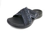 SKECHERS (女) 時尚休閒系列 On The GO 600 拖鞋 - 15306BBK 百搭黑【陽光樂活】