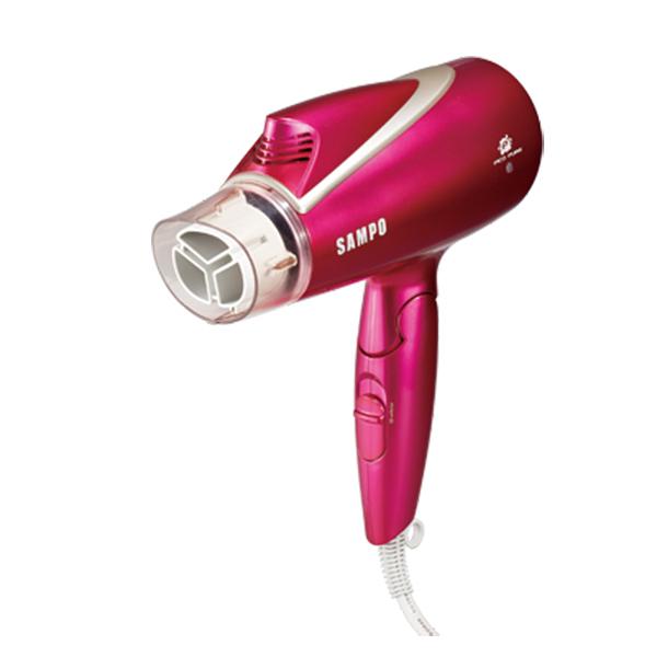 SAMPO 聲寶 低電磁波吹風機 ED-BC12TP(R) 豔桃紅