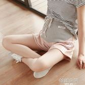 孕婦短褲女夏季2018款新款時尚運動寬鬆夏裝孕婦打底褲子薄款外穿