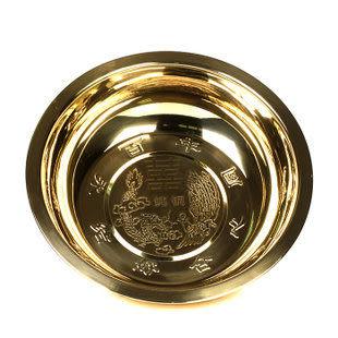 純銅聚財銅盆
