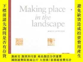 二手書博民逛書店Making罕見Place In The LandscapeY2