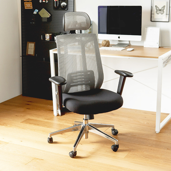 辦公椅 書桌椅 電腦椅 主管椅【I0006】Dodge 人體工學高背透氣鐵腳機能椅 MIT台灣製 完美主義