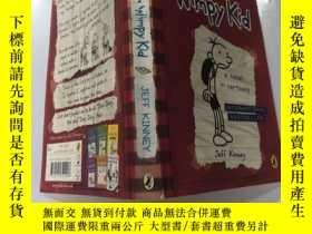 二手書博民逛書店Diary罕見of a Wimpy Kid: . 一個懦弱孩子的日記Y200392