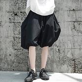 燈籠褲-街頭有型時尚寬鬆女五分褲2色73sp6[巴黎精品]