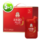 【買5送1】正官庄 活蔘28D PLUS(30包/盒)x5 (補貨中)