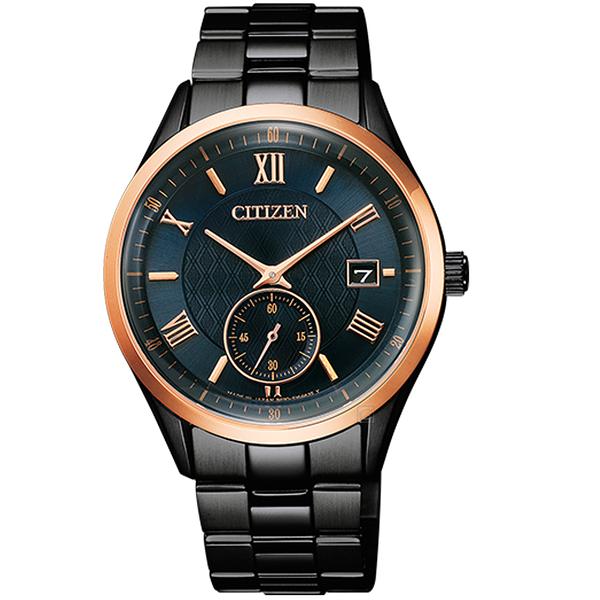 CITIZEN星辰菱紋時尚光動能手錶 BV1124-90L