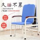 摺疊床 陪護椅摺疊床單人午休椅躺椅兩用辦公室休閒午睡床加厚加固 1995生活雜貨NMS