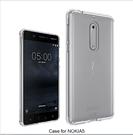 88柑仔店~諾基亞5 晶透亞克力 Nokia 5 TPU邊框歐美熱銷防摔透明殼