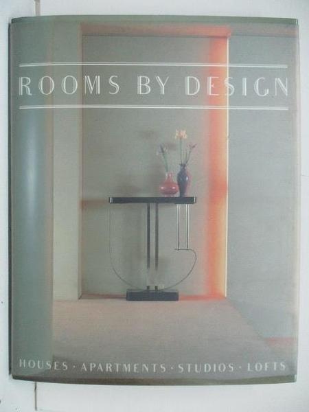 【書寶二手書T7/設計_DVE】Rooms by Design