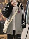 棒球服外套外搭開衫女薄款春秋運動上衣新款潮ins棒球服寬鬆鹽系外套 雙11購物節