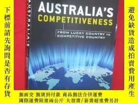 二手書博民逛書店Australia s罕見Competitiveness ( 1
