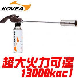 丹大戶外用品 韓國【KOVEA】KT-2911 巨炮超大火力360度瓦斯噴槍 炙燒/燒烤/噴燈/噴火槍/烤肉